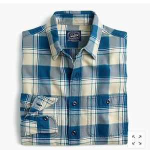 Jcrew Men's Midweight Flannel